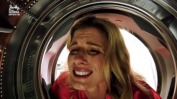 fucking my stuck wait honey  can i cum before i leave  step mom in the ass while she is stuck in the dryer - cory chase