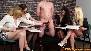 x rape video british cfnm babes jerking their sub in group