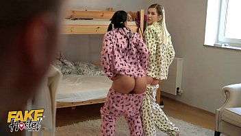 fake hostel y. in pajamas www black com have fun with a thick cock squirt