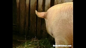 brunette lady farmer girl six video hairy pussy barn fucked