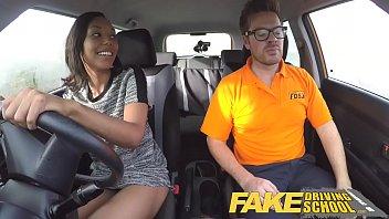 fake driving school pretty black girl seduced by saudi arab sex com driving instructor