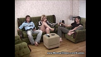 blonde mature double teamed by sexey girls young boys