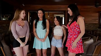 mother daughter exchange club with reagan foxx and very sexy video lena paul