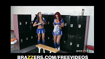 two sex vedio short hot lesbian cheerleaders start an orgy in the locker room
