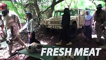 tour of booty xxxx video - fresh arab pussy for these horny american soldiers