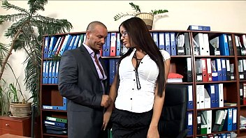 office secretary sexxxx fucked in stockings and heels