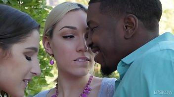 interracial threesome with lily labeau and nude fat girl abella danger
