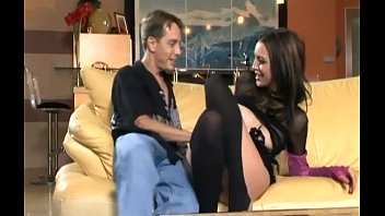 sex and anal sex in black stockings nudist log and high heels