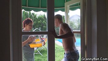granny allows him to videoxxxx seduce her