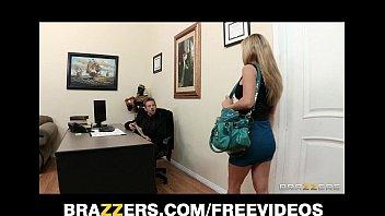 busty brunette secretary kiera xxvidoe com king seduces her bosses at work