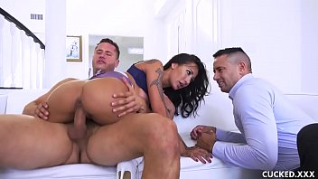 she xnzz closes the deal and shames her pathetic cuckold husband