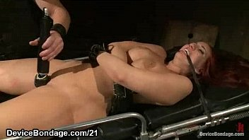 huge hooters strapped redhead kelly divine my pornsnap com covered in clothespins