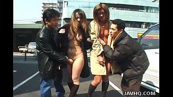 two wild xxxnx asian girls walking naked in public