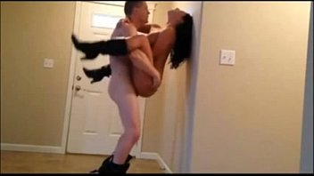 dirty little morning pussy fucktoy enjoys getting fucking fucked standing up