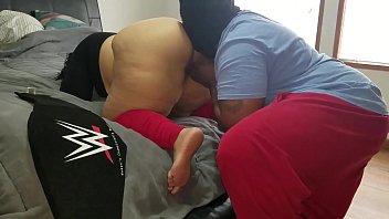latina porn muvi com slut with big ass loves older black men touching on her.