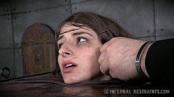 shy small tits brunette porn vidio in bondage pain