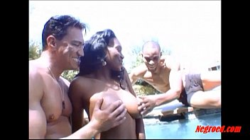 negroed.com black girl curly hair fucking 2 white guys in sexy hot movie download the swimming pool