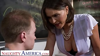 naughty america - professor krissy sex photo lynn takes her students cock