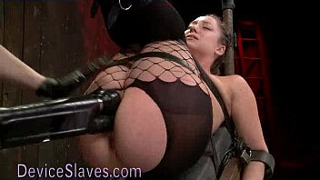 strapped to reclining board poen com babe fucked