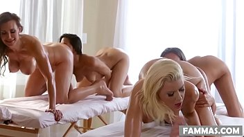 mother daughter spa day - anikka albrite lizz xxnn taylor lyla storm and tanya tate