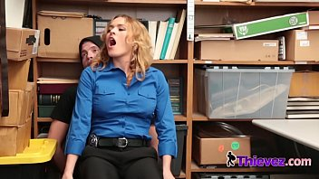 officer krissy hot and sexey video lynn takes advantage of handsome criminal with big cock