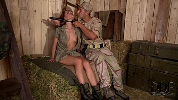 horny soldiers bang sexy corporal prono vedio sophie lynx s pussy and ass