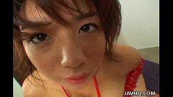 kinky mai haruna tit job very sexy video and foot job