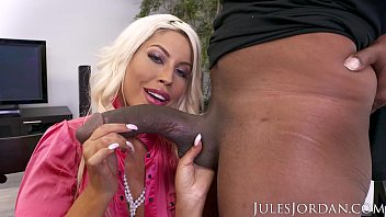 jules jordan www xxx con video - bridgette b big tit milf gets a bonus for all her hard work. a big black cock