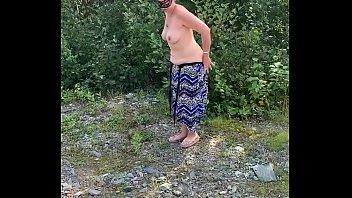 porn vidos outdoor strip