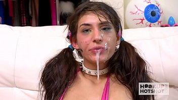 girls without clothes with boys skinny brunette babe dana wolf gets her throat and clit destroyed