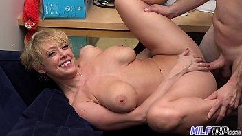 milf trip - super horny blonde www hot sex videos com big-boobed milf can t get enough cock - part 1