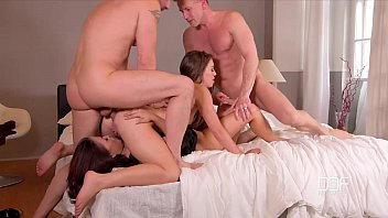 ddf network - 2 bros fuck a couple of johnny sins xxx super sexy hoes