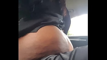 ebony milf riding my cock dee williams making assmends in the car at work