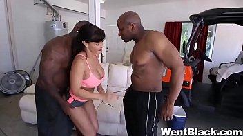 lisa ann sex vedieo fucks two black men
