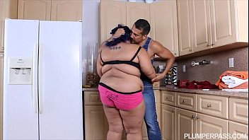 angry bbw babe is calmed xxxmaster and fucked by hubby s friend