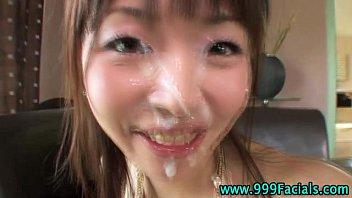 asian pov hottie pinksex gets facial cumshot