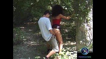 adventurous couple eva and milfmoves geza doing it at public