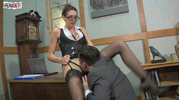 boss lady pussy service pronhab with sadie holmes lance hart femdom