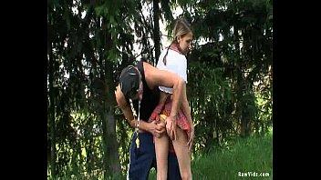 girl in nude group girls school uniform outdoor sex