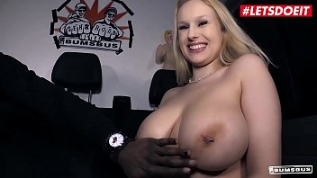 letsdoeit - busty german blondie angel wicky gives titjob xxx vedios and takes bbc on the bus