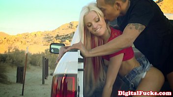 busty rikki arab sex scandal six fucked in tailgate