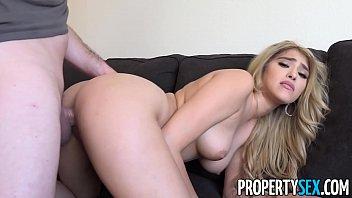 propertysex - curvy real estate agent xxx tv fucks her client in condo