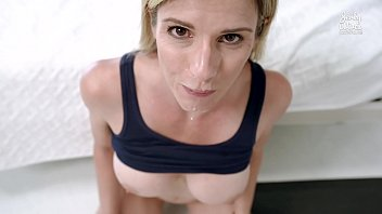 step sex amerika video mom gets stuck making the bed - cory chase