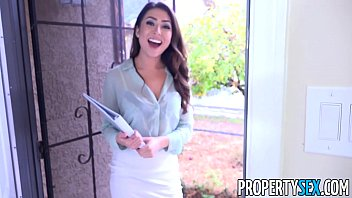 propertysex - sexy young real estate agent uses pussy to hard sex video youtube get client