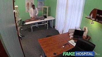 fake hospital g spot massage callgirl sex gets hot brunette patient wet