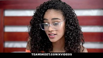 teenyblack - forceporn gorgeous tiny black girl scarlit scandal gets fucked hardcore by bwc stud