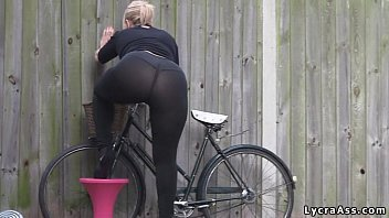 sexy wwwfuq com big ass in transparent lycra leggings tights and thong