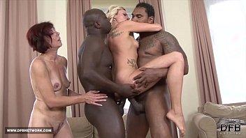 two mifls fuck two black guys swallow their www kajalxxx cum after interracial sex