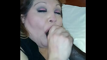 rae lynn gives a bbc prons video fan a blow job with a nasty cum shot clip