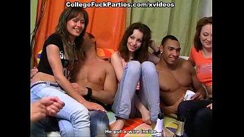 coeds film their barbi benton nude orgy at party